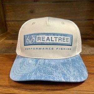 🆕 Realtree Performance Fishing Snapback Hat Cap